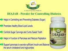 Diajab – Powder for Controlling Diabetes